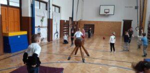 Dopolední cvičení v proseckém Sokolu